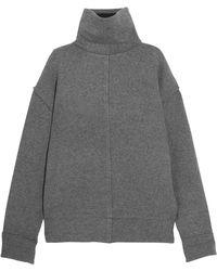 FRAME - Wool-blend Turtleneck Sweater - Lyst