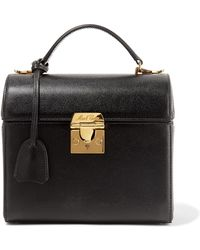 Mark Cross - Sara Textured-leather Tote - Lyst