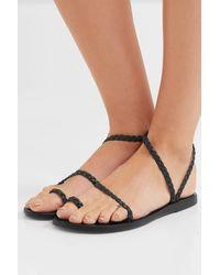 Ancient Greek Sandals - Eleftheria Braided Leather Sandals - Lyst
