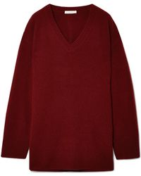 The Row - Sabrinah Oversized Cashmere And Silk-blend Jumper - Lyst
