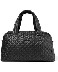 MZ Wallace - Jimmy Leather-trimmed Quilted Shell Tote - Lyst