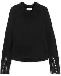 3.1 Phillip Lim - Embellished Knitted Jumper - Lyst