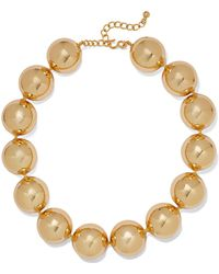 Kenneth Jay Lane - Gold-plated Necklace - Lyst