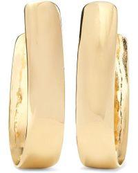 Jennifer Fisher Bolden Gold-plated Hoop Earrings - Metallic