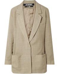 Jacquemus - Saafi Oversized Wool Blazer - Lyst