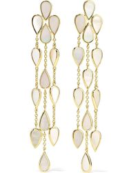 Ippolita - Rock Candy 18-karat Gold Mother-of-pearl Earrings - Lyst