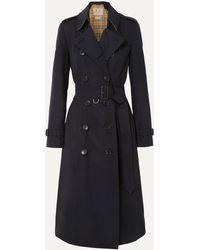 Burberry Langer Heritage-Trenchcoat in Kensington-Passform - Blau