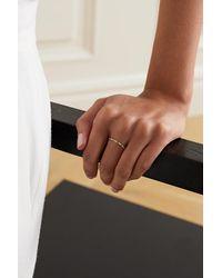 Ileana Makri Thread 18-karat Rose Gold Sapphire Ring - Metallic