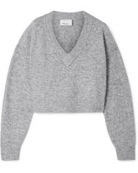 3.1 Phillip Lim - Cropped Knitted Jumper - Lyst