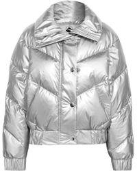 CORDOVA The Snowbird Metallic Quilted Down Ski Jacket
