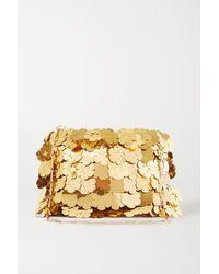 Paco Rabanne - Sparkle Paillette-embellished Chainmail Shoulder Bag - Lyst