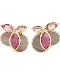 Ippolita - 18-karat Gold Multi-stone Earrings - Lyst