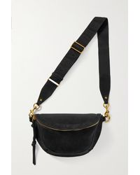 Isabel Marant Skano Suede Belt Bag - Black