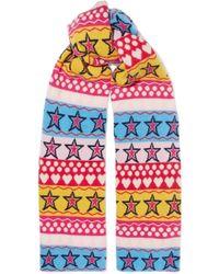 Chinti & Parker - Ski Party Wool Scarf - Lyst