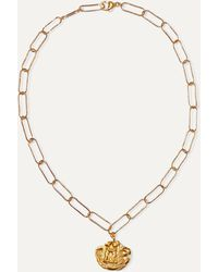 Alighieri Paola And Francesca Gold-plated Necklace - Metallic