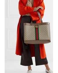 Gucci Ophidia GG Shopper - Natur