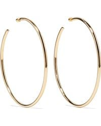 Jennifer Fisher - Lilly Gold-plated Hoop Earrings - Lyst