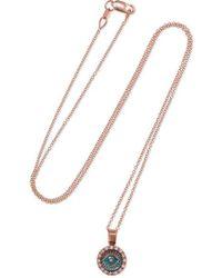 Ileana Makri - Ireedp 18-karat Rose Gold Diamond Necklace - Lyst