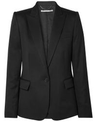 Stella McCartney Ingrid Wool Blazer - Black