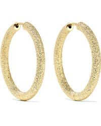 Carolina Bucci 18-karat Gold Hoop Earrings - Metallic