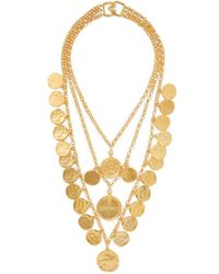 Kenneth Jay Lane - Gold-tone Necklace - Lyst