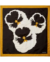 Valentino - Floral-print Silk-twill Scarf - Lyst