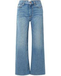 Simon Miller - W006 Kasson Mid-rise Wide-leg Jeans - Lyst