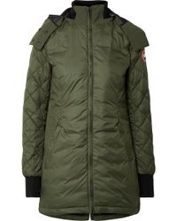 Canada Goose | Stellarton Quilted Shell Down Coat | Lyst