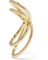 Jennifer Fisher Thread Gold-plated Ear Cuff - Metallic