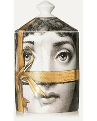 Fornasetti Regalo Gold Scented Candle, 300g - Multicolour