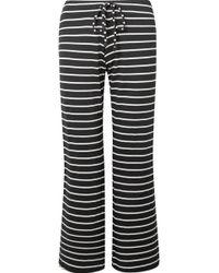 Eberjey - Striped Jersey Pyjama Trousers - Lyst