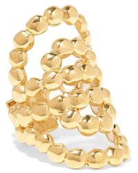 Chloé - Valeria Lacquered Gold-tone Ring - Lyst