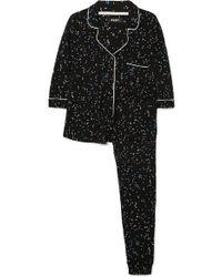 DKNY - Bedruckter Pyjama Aus Jersey - Lyst