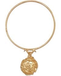 Alighieri - The Fortune Charm Gold-plated Bracelet Gold One Size - Lyst