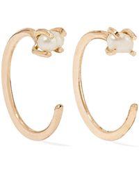 Melissa Joy Manning - 14-karat Gold Pearl Earrings Gold One Size - Lyst