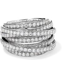 De Grisogono - Allegra 18-karat White Gold Diamond Ring - Lyst