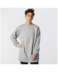New Balance - Achiever Crew Sweatshirt - Lyst