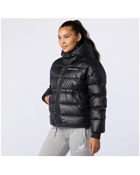 New Balance Women's Sport Style Optiks Down Jacket - Black