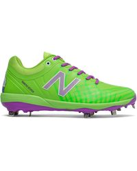 New Balance Nb X Big League Chew 4040v5 Cleats And Turf Shoes - Green