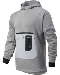 New Balance Fortitech Pullover - Gray