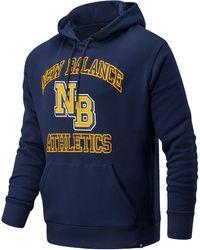 New Balance Nb Athletics Varsity Pack Hoodie - Blue