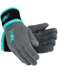 New Balance Liverpool FC Elite Knitted Gloves - Multicolore