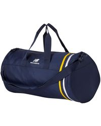 New Balance LSA Barrel Duffel - Bleu