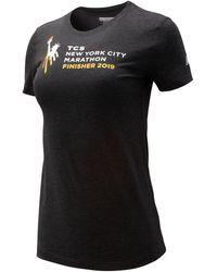 New Balance - Nyc Marathon Finisher Logo Tee - Lyst