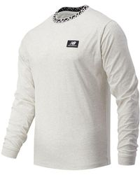 New Balance - Hombres Camiseta de manga larga NB Athletics Terrain - Lyst