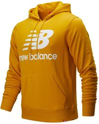 New Balance Essentials Stacked Logo Pullover Hoodie - Multicolour