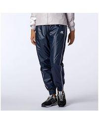 New Balance Donna NB Athletics Woven Pant - Blu