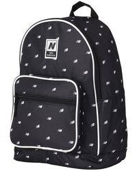 New Balance Unisex Classic Backpack Aop - Black