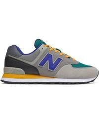 New Balance Homme 574 - Gris