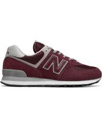 New Balance 574 Core Chaussures de sport pour homme - Rouge
